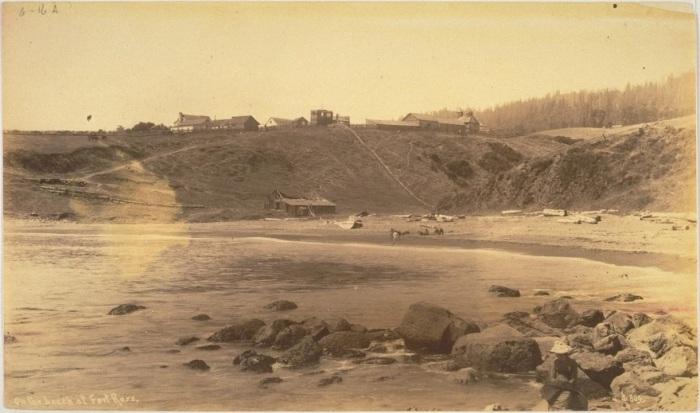 Форт-Росс, 1830-е гг./Фото: img.crazys.info