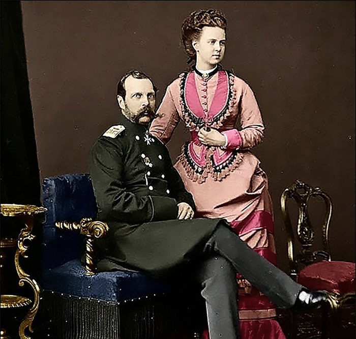 Екатерина Долгорукова и Александр II./Фото: novosti-shki.ru