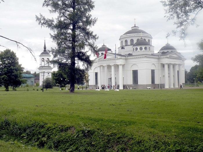 В 1782 году Екатерина распорядилась выстроить близ Царского Села миниатюрную копию Софийского собора Константинополя./Фото: upload.wikimedia.org