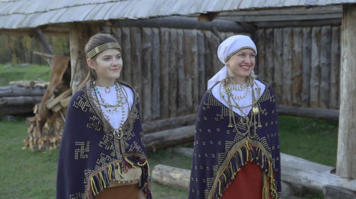 Традиционный внешний вид представителей балтских племен./Фото: i.pinimg.com