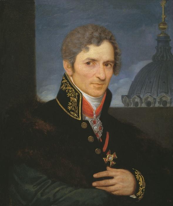Андрей Воронихин был отправлен учиться и стал архитектором./Фото: upload.wikimedia.org