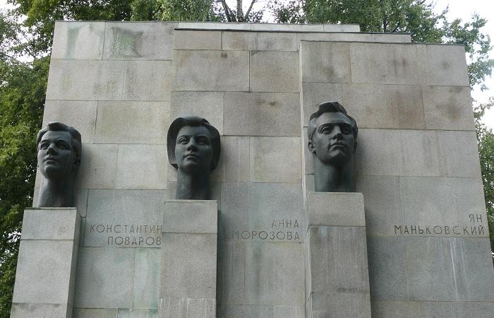 Памятник героям интернационального подполья. /Фото: upload.wikimedia.org