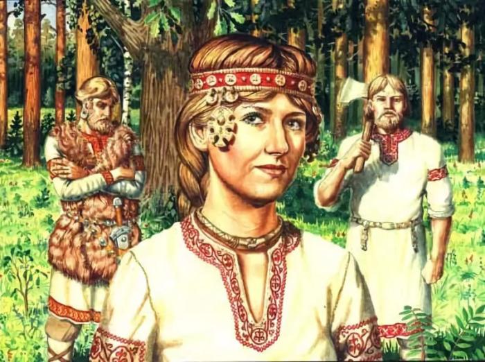 Ляпалками называли болтливых и глупых жен. /Фото: mtdata.ru