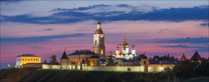 При Гагарине был построен Тобольский кремль — единственный каменный кремль во всей Сибири./Фото: puttur.ru