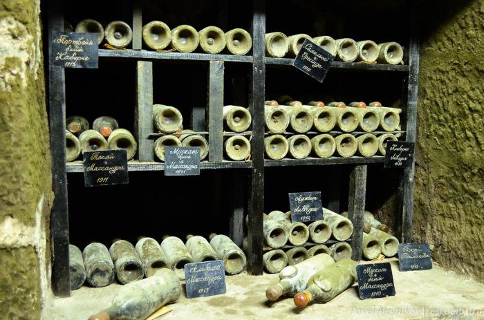 Массандровский винный погреб. /Фото: lh4.googleusercontent.com