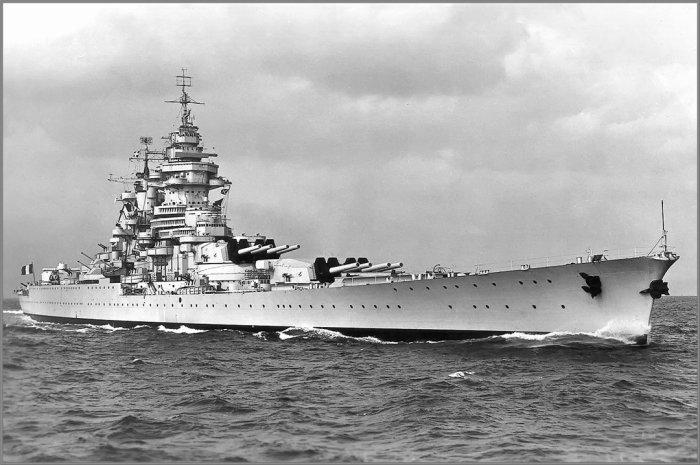 Линейный корабль ВМФ Франции