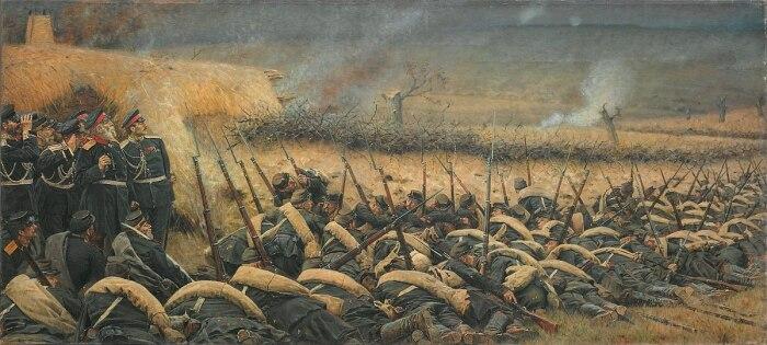 От атак к осаде. /Фото: upload.wikimedia.org