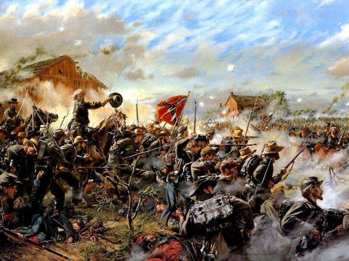 Турчин прославился во множестве сражений Гражданской войны в США./Фото: i.pinimg.com