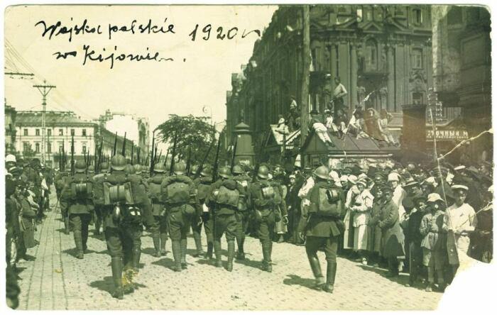 Вступление поляков в Киев. /Фото: bi.im-g.pl