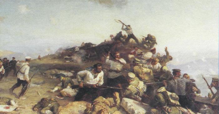 После штурмов японцы потеряли не менее 100 тысяч людей убитыми. /Фото: s00.yaplakal.com