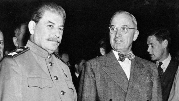 Иосиф Сталин и Гарри Трумэн. /Фото: img.gazeta.ru