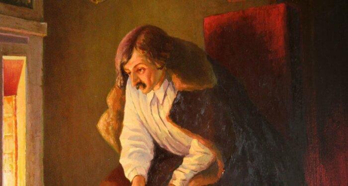 Гоголь сжег не только второй том «Мертвых душ». /Фото: ndc.book24.ru