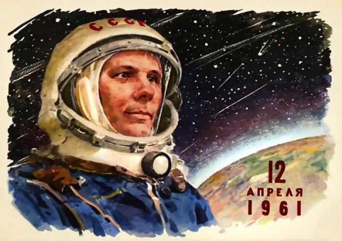 Образ Гагарина неизменно наполняет ритуалы современных космонавтов./Фото: kak2z.ru
