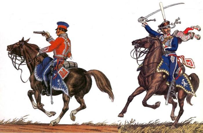 На полях сражений гусары выполняли роль современного спецназа./Фото: koof.ru