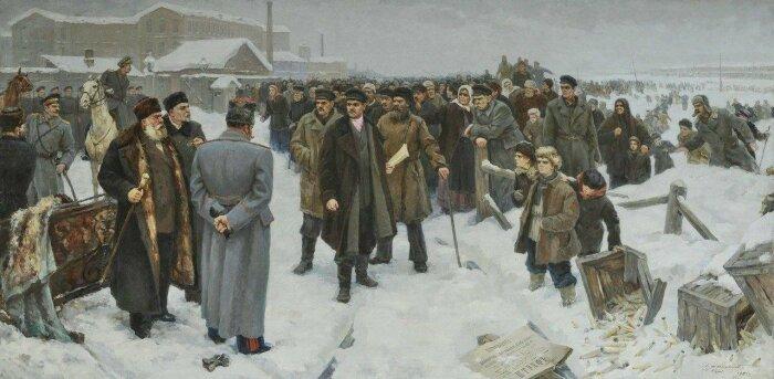 После Морозовской стачки положение рабочих стало улучшаться. /Фото: i08.fotocdn.net