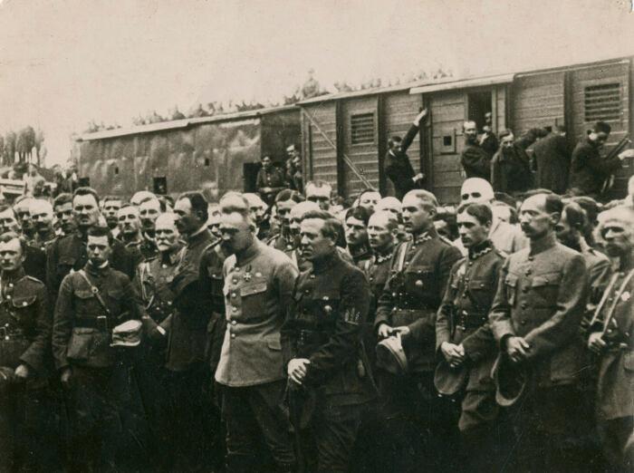 Пилсудский и Петлюра. /Фото: 1920.gov.pl