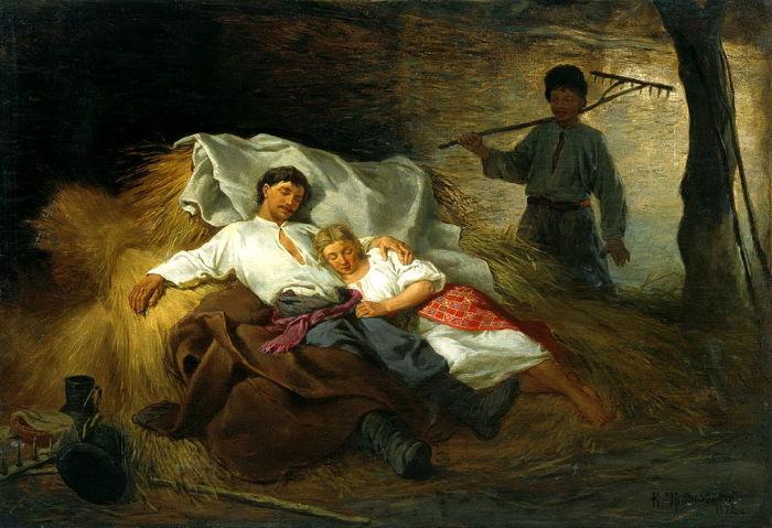 За молодыми во время первой брачной ночи могли подглядывать. /Фото: fresher.ru