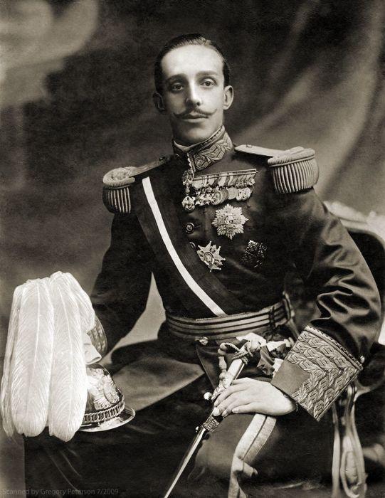 Альфонсо XIII – король Испании./Фото: i.pinimg.com