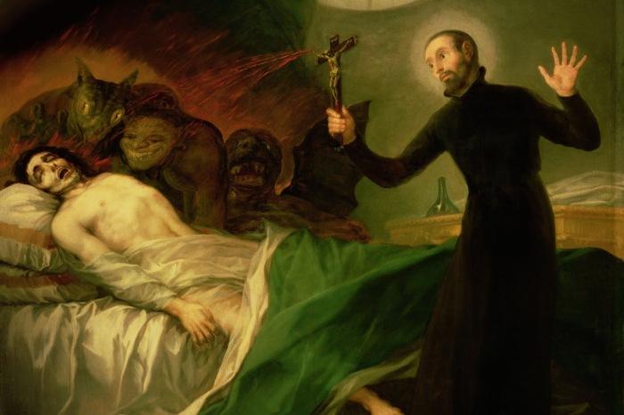 Когда в человека вселялся злой дух, изгнать его мог только священнослужитель. /Фото: news.noteru.com