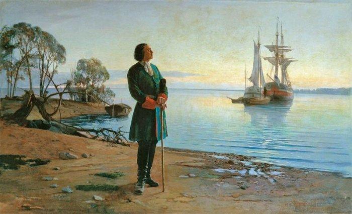 Находясь в Англии, Пётр I продолжает приобретает инструменты и припасы для будущего флота./Фото: cdn.net