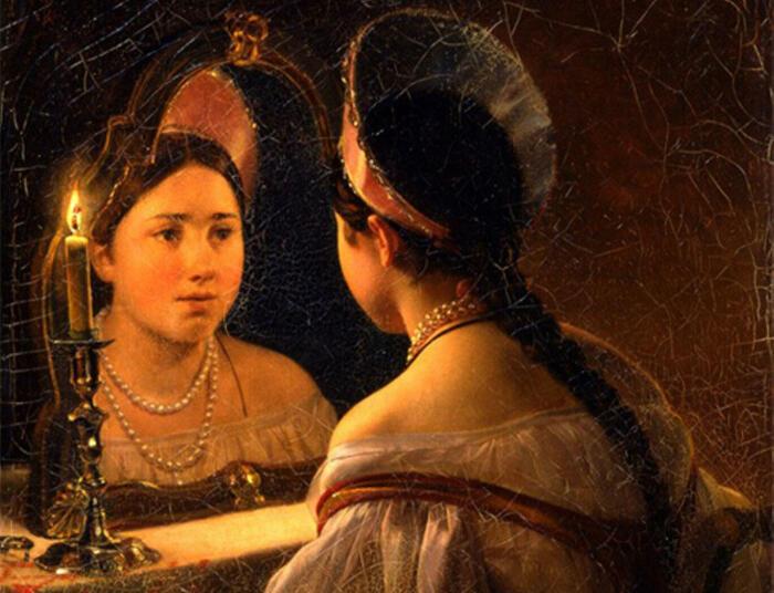 Зеркалам на Руси приписывались мистические свойства. /Фото: rostovgazeta.ru