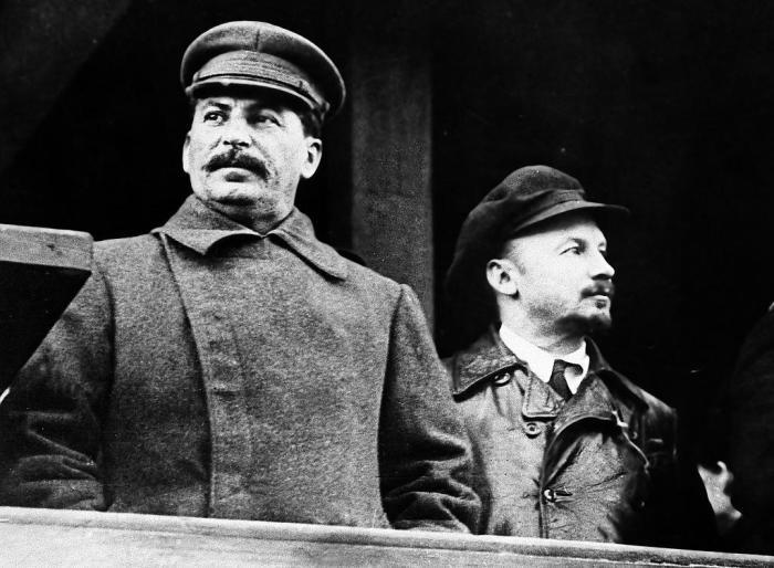 И. В. Сталин о Бухарине: «Вчера ещё личные друзья, теперь расходимся с ним в политике»./Фото: sydsvenskan.se