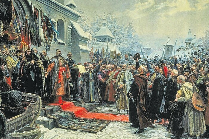 Принятие решения о присоединении Украины к России. /Фото: mtdata.ru