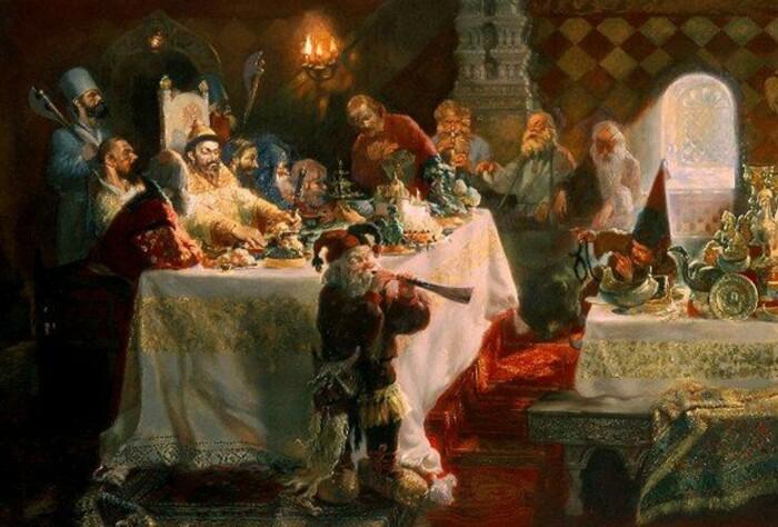 Во времена Ивана Грозного самогон был очень популярен, а самогонные аппараты называли «магарыч». /Фото: api.theins.ru