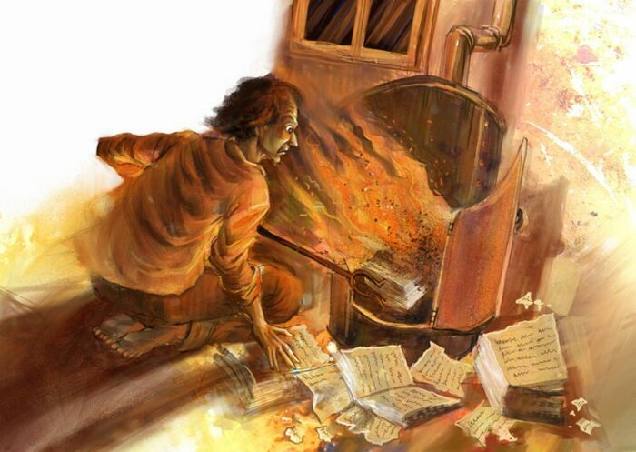 Есть версия, что Гоголь сжег рукопись по невнимательности. /Фото: static.diary.ru