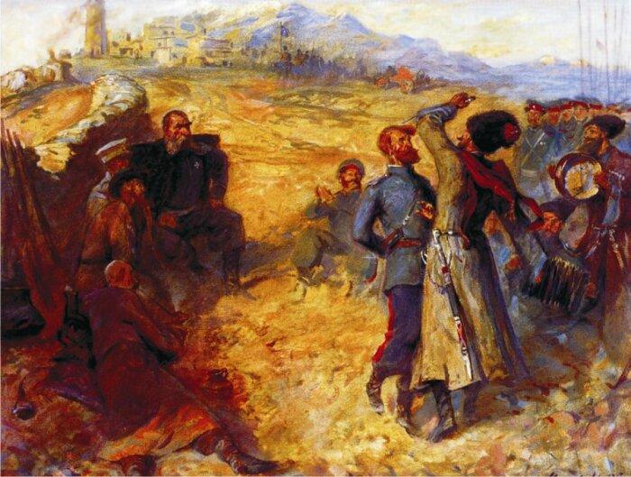 Бакланов лично участвовал в каждом бою своих подчиненных. /Фото: ic.pics.livejournal.com