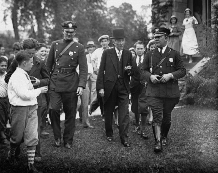 Джон Дэвисон Рокфеллер в мае 1933 года./Фото: s.yimg.com
