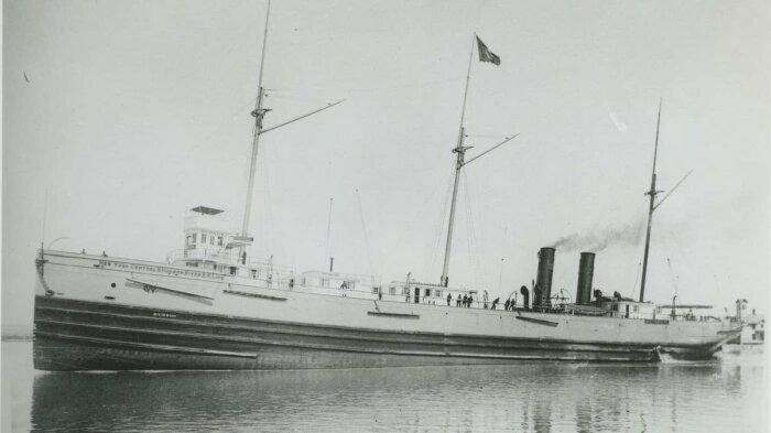 «Хатсон», исчезнувший в США в 1901 году. /Фото: s3.nat-geo.ru