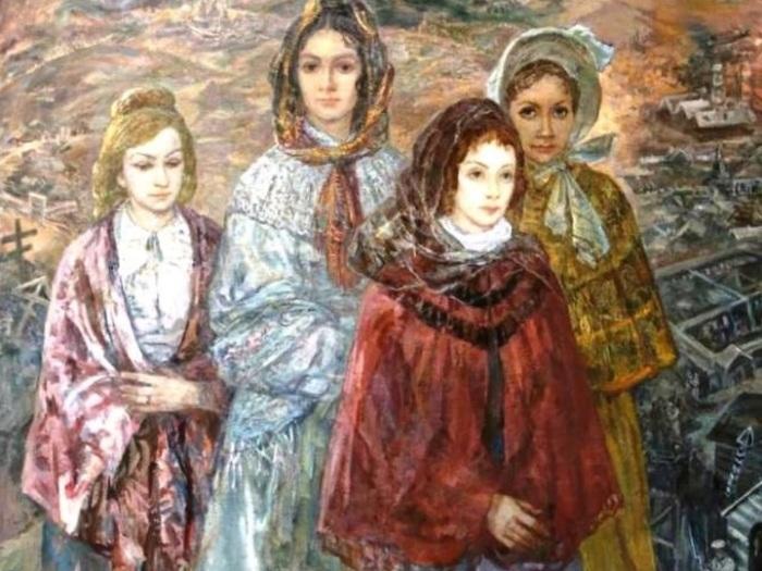 Когда жены следовали за мужьями ы ссылку, это считалось обычным поступком. /Фото: pro.culture.ru