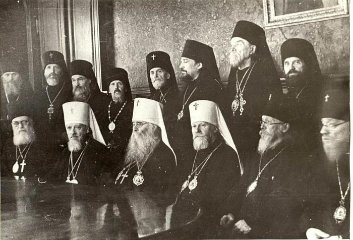 Архиерейский собор 1943 года. /Фото: odigitria.by