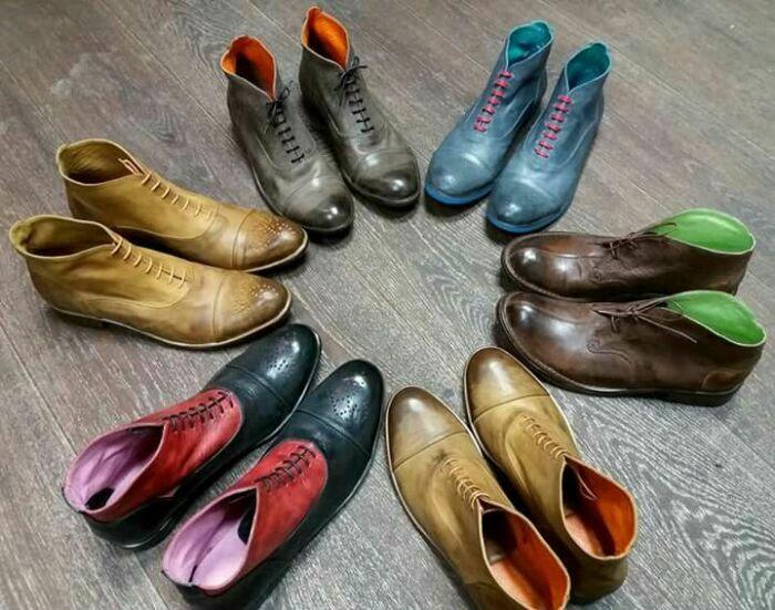 «Шузы» на сленге стиляг — обувь. /Фото: i.pinimg.com