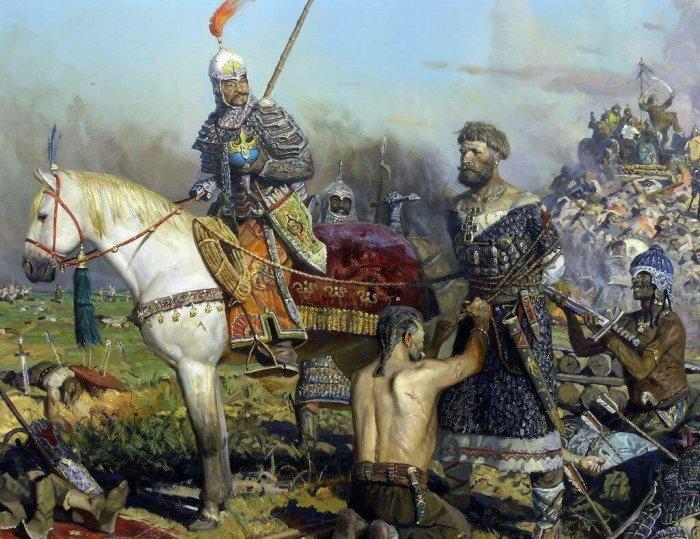 Павел Рыженко. Битва на реке Калке. /Фото: avatars.mds.yandex.net