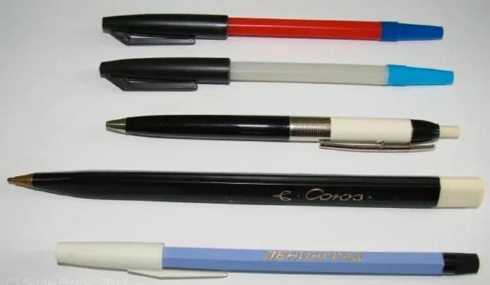 Шариковые ручки тоже были предметом коллекционирования. /Фото: avatars.mds.yandex.net