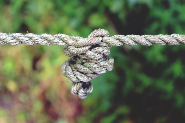Узел на веревке символизировал плод в животе женщины. /Фото: cdn.pixabay.com