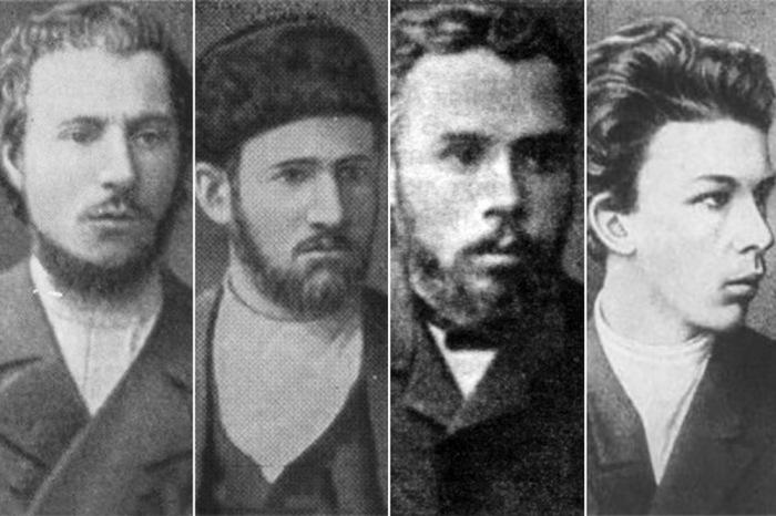 Участники «Террористической фракции» - Андреюшкин, Генералов, Осипанов, Ульянов./Фото: ic.pics.livejournal.com