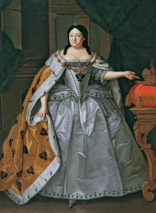 Императрица Анна Иоановна (1730-1740)./Фото: uchilegko.info
