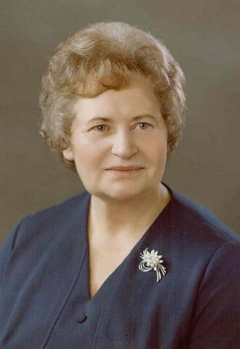 Анна Дмитриевна Черненко (урождённая Любимова, 1913—2010)./Фото: boom.ms
