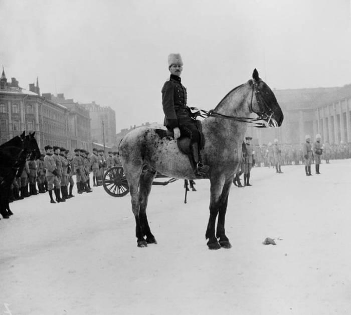 Парад финских войск. 1919 год./Фото: mtdata.ru