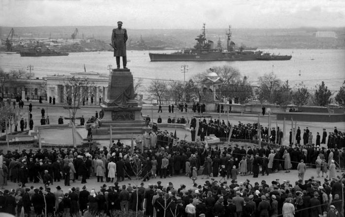 Торжества в Севастополе по поводу годовщины Синопской битвы. /Фото: 2017.f.a0z.ru