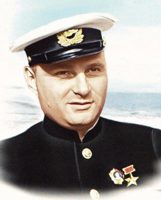 Капитан Бадигин. /Фото: pisatelei.ru