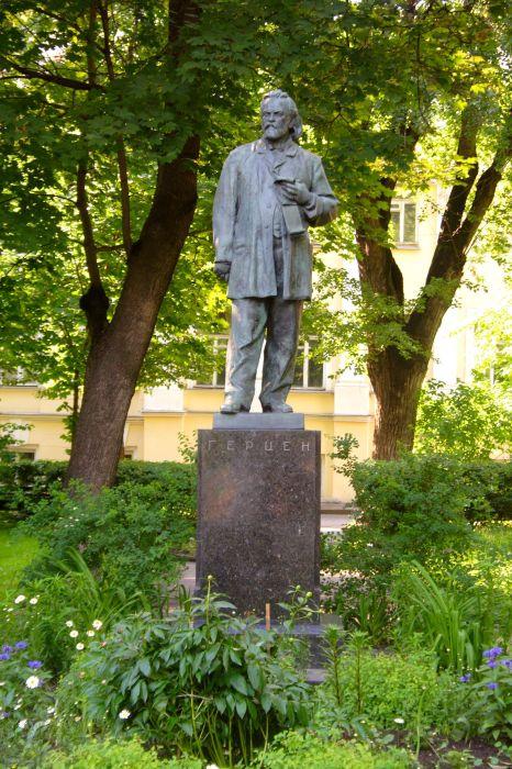 Памятник Герцену в Москве. /Фото: upload.wikimedia.org