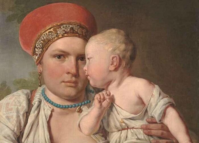 Молочный брат — сын кормилицы по отношению к вскормленному ей чужому младенцу. /Фото: molva33.ru