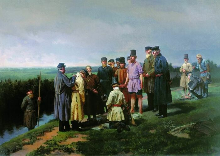 Могилы самоубийц и утопленников не имели креста. /Фото: i.pinimg.com