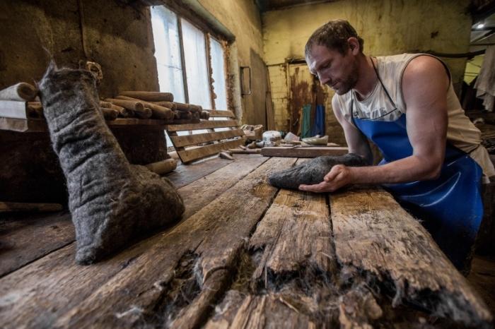 Ручное валяние. /Фото: mtdata.ru