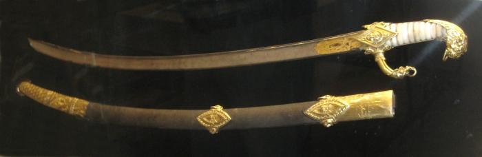 Сабля, которую Наполеон I подарил П. А. Шувалову. /Фото: upload.wikimedia.org