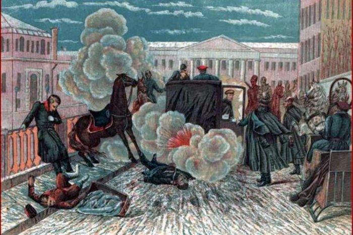 К. Порфиров. Покушение на императора 1 марта 1881 года./Фото: img.rg.ru
